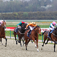 Brass Ring and James Doyle winning the 3.00 race