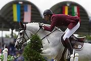 Ali bin Khaled al Thani - Cantaro 32<br /> World Equestrian Festival, CHIO Aachen 2012<br /> © DigiShots