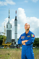 European Space Agency astronaut Luca Parmitano, of Italy, Tuesday, May 31, 2016 in Houston at the Rocket Park at the Johnson Space Center. On July 16, 2013, Expedition 36 astronauts Chris Cassidy and Luca Parmitano had to cut a planned 7-hour spacewalk short after only an hour and a half due to a malfunction in Parmitano's space suit, leaking water into his helmet and eventually cutting off his vision, hearing, and communications. Fortunately the Italian test pilot was able to safely return inside the ISS, but for several minutes he was faced with a pretty frightening situation: stuck outside Space Station with his head in a fishbowl that was rapidly filling with water.