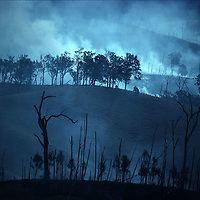Busfire in Australia