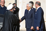 20160125 -  visita di Hassan Rohani, il presidente Iran al Quirinale Roma