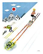 (Jet-propelled skis)