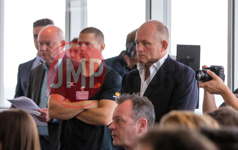 Bristol Rugby's Director of Rugby, Andy Robinson at the Aviva Premiership fixture launch - Mandatory by-line: Robbie Stephenson/JMP - 07/07/2016 - RUGBY - BT Tower - London, United Kingdom  - Aviva Premiership Fixture Launch
