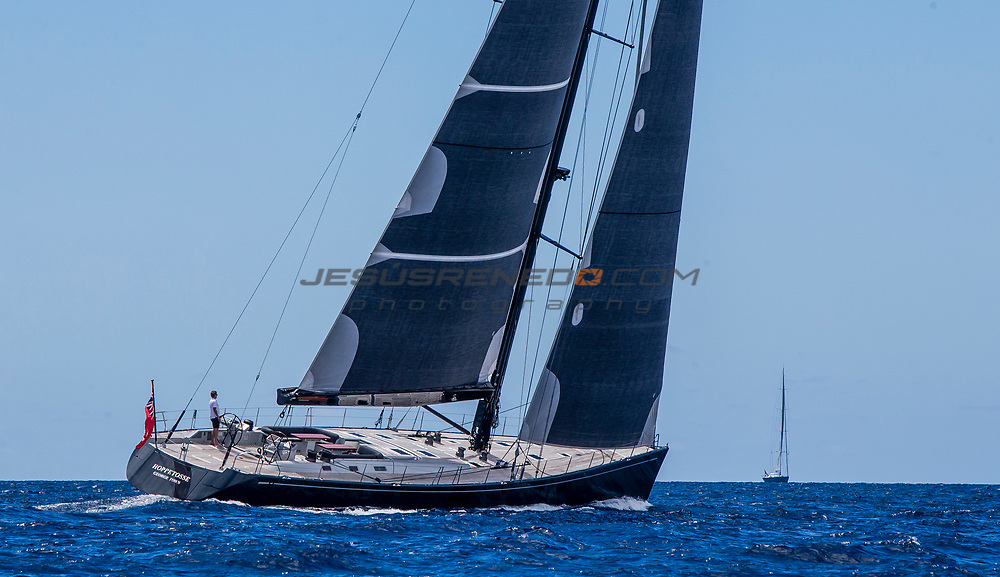 Photo Shooting for Nautor´s Swan Brokerage  © Jesus Renedo Swan 100 FD  Hoppetosse