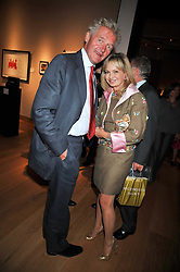 COUNT LEOPOLD VON BISMARCK and COUNTESS MAYA VON SCHONBURG at fundraising dinner and auction in aid of Liver Good Life a charity for people with Hepatitis held at Christies, King Street, London on 16th September 2009.