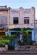 Art Deco house in Havana Vedado, Cuba.
