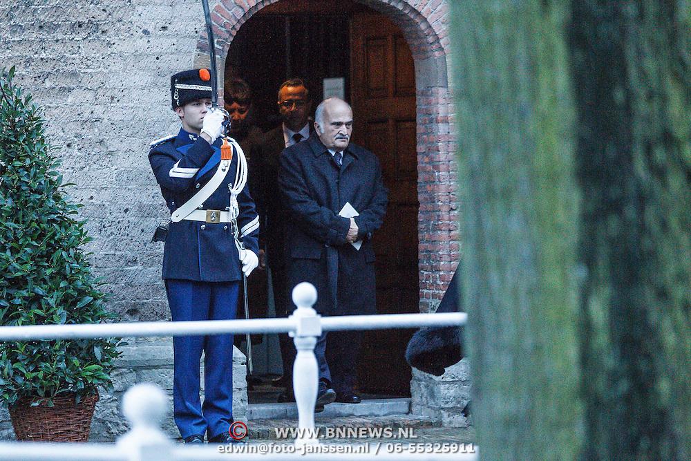 NLD/Delft/20131102 - Herdenkingsdienst voor de overleden prins Friso, Prins El Hassan Bin Talal van Jordanie