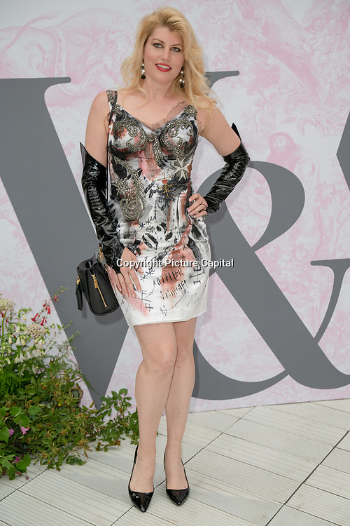 Meredith Ostrom arrives at V&A - summer party, on 19 June 2019, London, UK