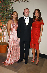 Left to right, SERENA MATTAR, SEBASTIAN SAINSBURY and CARMEN DUDLEY at a charity dinner 'By Imperial Command' - a Chinese New Year Gala Dinner in aid of the charity Kids held at The Banqueting House, Whitehall, London on 8th February 2006.<br /><br />NON EXCLUSIVE - WORLD RIGHTS
