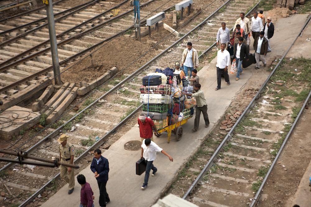India-Delhi Train Station