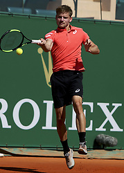April 20, 2018 - Biarritz, Pays Basque, Nouvelle, Monaco - Tennis - ATP- Monaco - Monte Carlo, Monte  Carlo country club, Rolex Monte - Carlo Masters 2018, 20 avril 2018..Le belge David Goffin (BEL (Credit Image: © Panoramic via ZUMA Press)