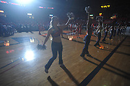 "Rebelettes at the C.M. ""Tad"" Smith Coliseum in Oxford, Miss. on Tuesday, February 1, 2011. Ole Miss won 71-69 over Kentucky."