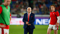 Rugby Union - 2019 Rugby World Cup - Semi-Final: Wales vs. South Africa<br /> <br /> Warren Gatland head coach of Wales at International Stadium Yokohama, Kanagawa Prefecture, Yokohama City.<br /> <br /> COLORSPORT/LYNNE CAMERON
