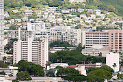 An image showing President Barack Obama's childhood apartment building in Makiki, Honolulu, Hawaii.