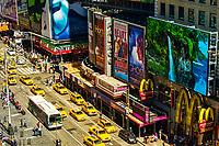 Taxi Brigade, Times Square