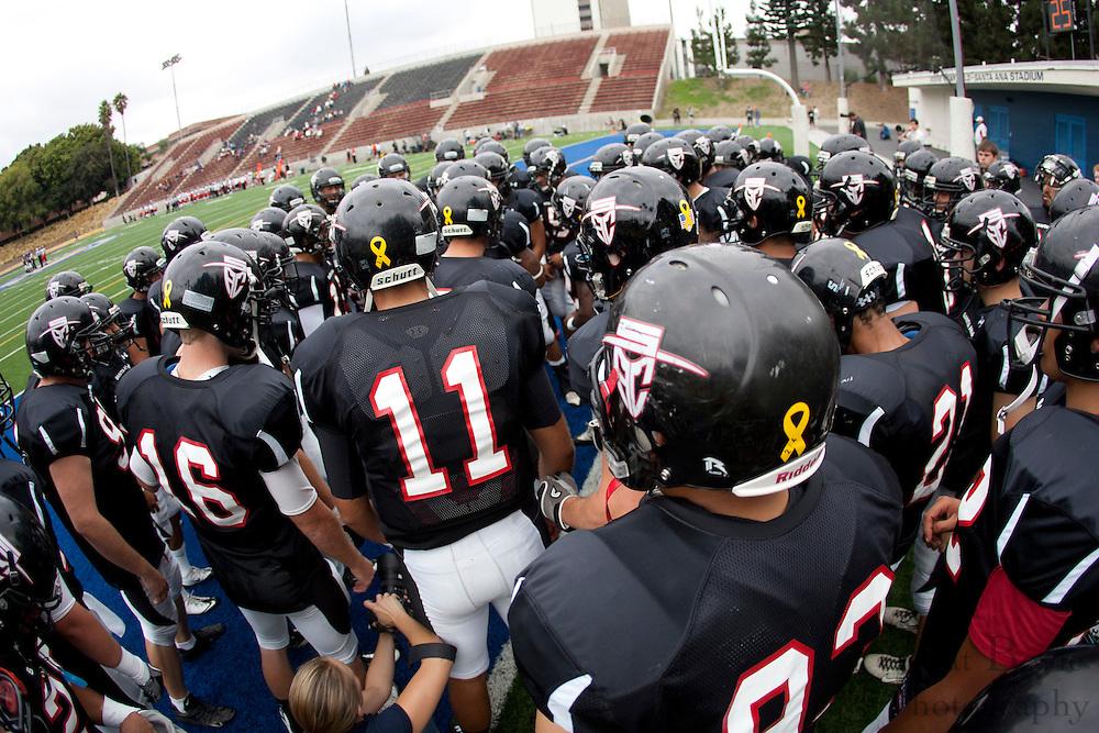 Santa Ana College vs Palomer football on Saturday September 24, 2011.