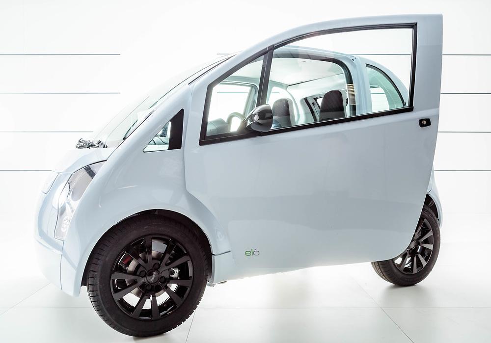 """24 FEB 2017 - Dueville (VI) - """"Askoll"""":  prototipo di auto elettrica """"Elò""""."""