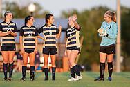 October 3, 2019: The St. Edward's University Hilltoppers play the Oklahoma Christian University Eagles on the campus of Oklahoma Christian University