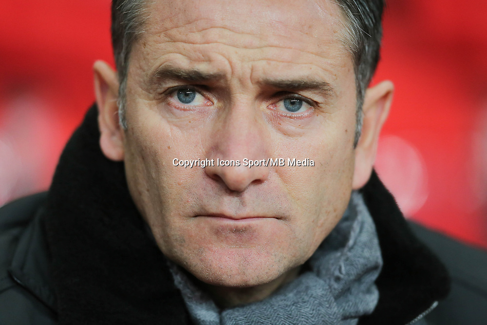 Philippe MONTANIER - 06.12.2014 - Rennes / Montpellier - 17eme journee de Ligue 1 -<br />Photo : Vincent Michel / Icon Sport