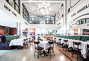 The PB Station restaurant in Miami's historic Langford Hotel