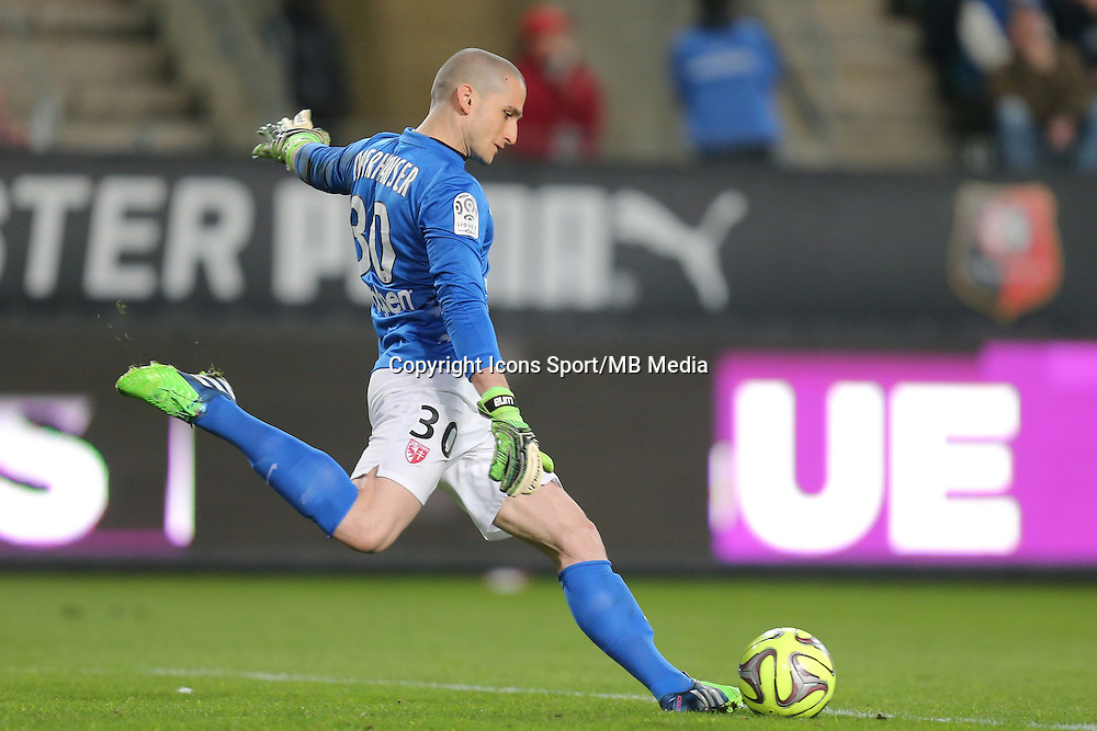 David OBERHAUSER  - 07.03.2015 -  Rennes / Metz -  28eme journee de Ligue 1 <br />