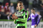 Forest Green Rovers Mark Roberts(21) during the The FA Cup match between Forest Green Rovers and Exeter City at the New Lawn, Forest Green, United Kingdom on 2 December 2017. Photo by Shane Healey.
