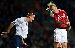 [DK=06-09-2011: EURO 2012 Kval. Danmark vs. Norge -  Simon Kjær, Danmark - Brede Hangeland, Norge..© Lars Rønbøg / Sportsagency ].[UK=06-09-2011: EURO 2012 Qual. Denmark vs. Norway - Simon Kjaer, Denmark - Brede Hangeland, Norway..© Lars Ronbog / Sportsagency ].