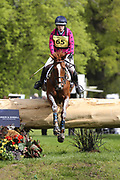 Sharon Polding on Findonfirecracker during the International Horse Trials at Chatsworth, Bakewell, United Kingdom on 13 May 2018. Picture by George Franks.