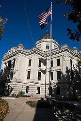 Monroe County Courthouse, Bloomington, Indiana, United States of America