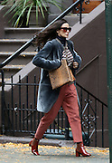 Nov. 12, 2015 - New York City, NY, USA - <br /> <br /> Actress Demi Moore was on the Brooklyn set of the new movie 'Blind' on November 12 2015 in New York City <br /> ©Exclusivepix Media