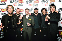 Coldplay and  Kaiser Chiefs