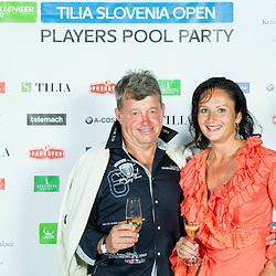 20140711: SLO, Tennis - ATP Challenger Tilia Slovenia Open, Players Roof Party at Kempinski Hotel