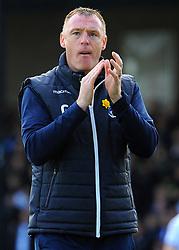 Bristol Rovers manager Graham Coughlan applauds fans- Mandatory by-line: Nizaam Jones/JMP - 04/05/2019 - FOOTBALL - Memorial Stadium - Bristol, England - Bristol Rovers v Barnsley - Sky Bet League One