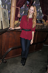 MORWENNA LYTTON COBBOLD at a party tocelebrate the launch of Diesel's new female fragrance 'Loverdose' held at The Box, 11-12 Walkers Court, Brewer Street, London on 7th September 2011.