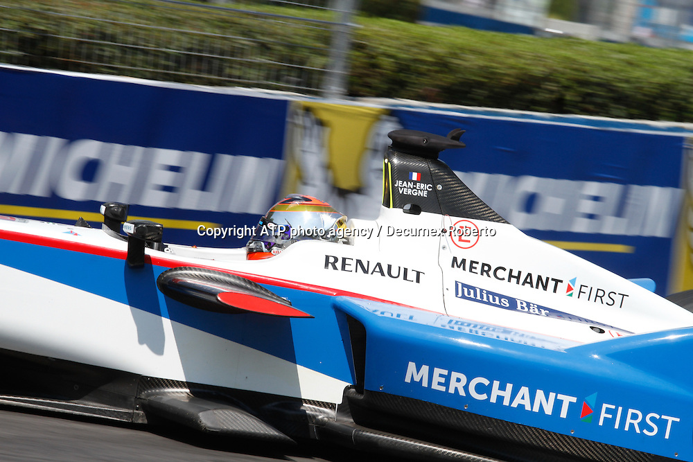 Jean-Eric VERGNE, (FRA), Andretti FormulaE racing,<br /> <br /> Buenos Aires; January 10th 2015, E-Prix, FIA Formula E, <br /> fee liable image, copyright@ ATP Decurnex Roberto