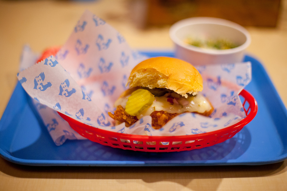 Wickedwich Sandwich at Hill Country Fried Chicken ($10.34) - KevLunch (kjb visit)