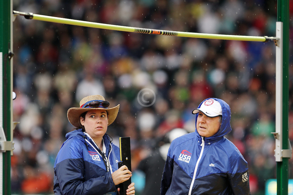 Olympic Trials Eugene 2012: high jump officials