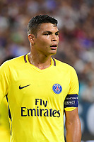 Thiago Silva of PSG during the International Champions Cup match between Paris Saint Germain and Juventus Turin at Hard Rock Stadium on July 26, 2017 in Miami, Florida. (Photo by Dave Winter/Icon Sport)