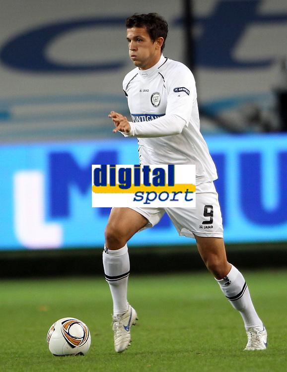 Fotball<br /> Østerrike<br /> Foto: Gepa/Digitalsport<br /> NORWAY ONLY<br /> <br /> 03.11.2011<br /> UEFA Europa League, Gruppenphase, RSC Anderlecht vs SK Sturm Graz<br /> <br /> Bild zeigt Haris Bukva (Sturm).