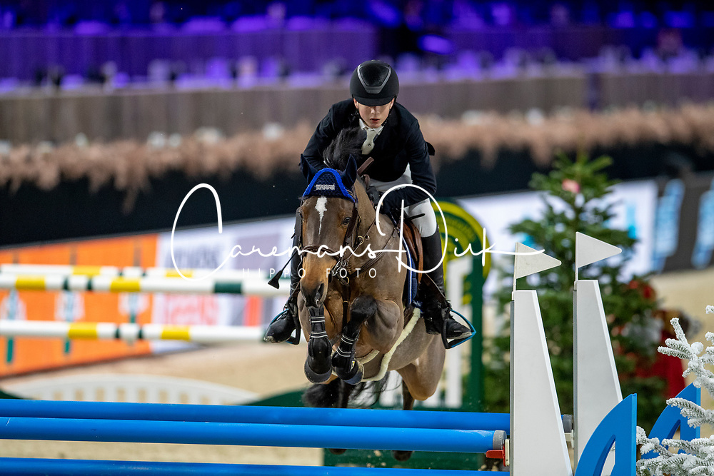 Mees Frederik, BEL, First Rate De Tinmont<br /> Jumping Mechelen 2019<br /> © Hippo Foto - Dirk Caremans<br />  27/12/2019
