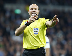 April 30, 2019 - London, England, United Kingdom - Referee Antonio Mateu Lazo of Spain.during UEFA Championship League Semi- Final 1st Leg between Tottenham Hotspur  and Ajax at Tottenham Hotspur Stadium , London, UK on 30 Apr 2019. (Credit Image: © Action Foto Sport/NurPhoto via ZUMA Press)