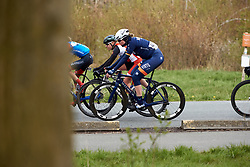 Mieke Kröger (GER) at Healthy Ageing Tour 2019 - Stage 5, a 124.3 km road race in Midwolda, Netherlands on April 14, 2019. Photo by Sean Robinson/velofocus.com