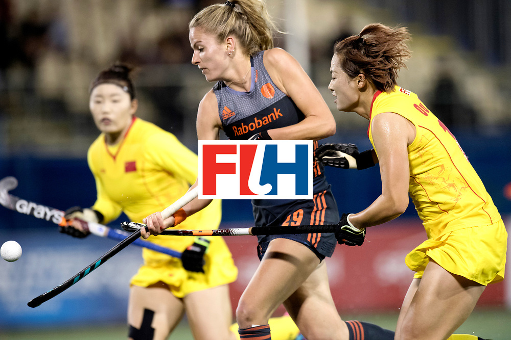 AUCKLAND - Sentinel Hockey World League final women<br /> Match id: 10305<br /> 16 NED v CHina (QF)<br /> Foto:  Maartje Krekelaar .<br /> WORLDSPORTPICS COPYRIGHT FRANK UIJLENBROEK