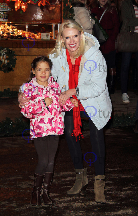 LONDON - NOVEMBER 22: Anneka Rice attended the opening night of 'Hyde Park Winter Wonderland' in Hyde Park, London, UK. November 22, 2012. (Photo by Richard Goldschmidt)