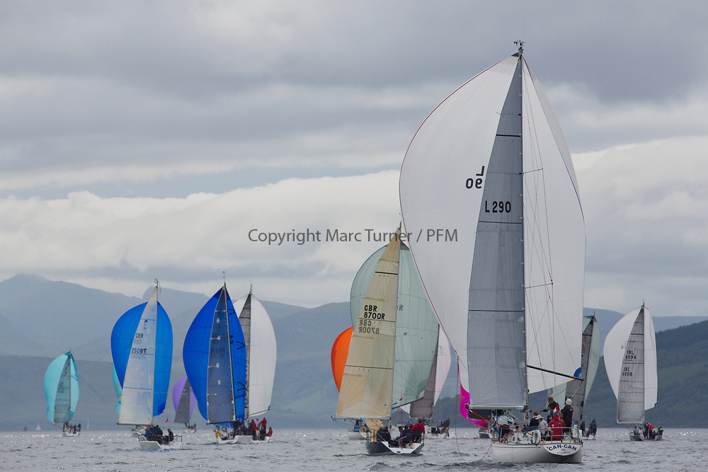 Silvers Marine Scottish Series 2017<br /> Tarbert Loch Fyne - Sailing Day 3<br /> <br /> L290, Can Can IV, Jack &amp; Jackie Thoms, RORC/ Royal Southern, Swan 40