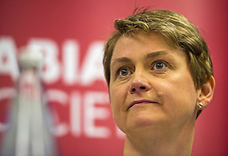 © Licensed to London News Pictures. 06/06/2015. London, UK. YVETTE COOPER speaking.  Current Labour Leadership candidates attend a debate at the Fabien Society Conference, held at the institute of Education in London. Photo credit: Ben Cawthra/LNP
