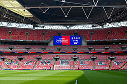Sky Bet branding at Wembley Stadium ahead of the game between Aston Villa and Fulham in the Sky Bet Championship Play off final - Mandatory by-line: Dougie Allward/JMP - 26/05/2018 - FOOTBALL - Wembley Stadium - London, England - Aston Villa v Fulham - Sky Bet Championship Play-off Final