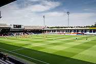 General view of Kenilworth Road Stadium, home of Luton Town Football Club, before the Pre Season Friendly match at Kenilworth Road, Luton<br /> Picture by David Horn/Focus Images Ltd +44 7545 970036<br /> 26/07/2014