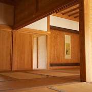 The graceful interior of an ancient Ryukyu kingdom castle