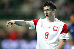 09.06.2011, Stadion Wojska, Warschau, POL, FSP, Poland vs France, im Bild ROBERT LEWANDOWSKI, EXPA Pictures © 2011, PhotoCredit: EXPA/ Newspix/ MICHAL NOWAK +++++ ATTENTION - FOR AUSTRIA/ AUT, SLOVENIA/ SLO, SERBIA/ SRB an CROATIA/ CRO, SWISS/ SUI and SWEDEN/ SWE CLIENT ONLY +++++